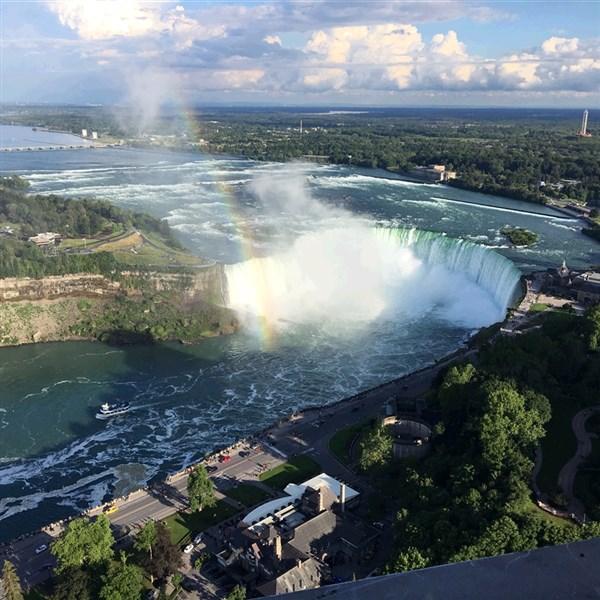 Canadian View Niagara Falls